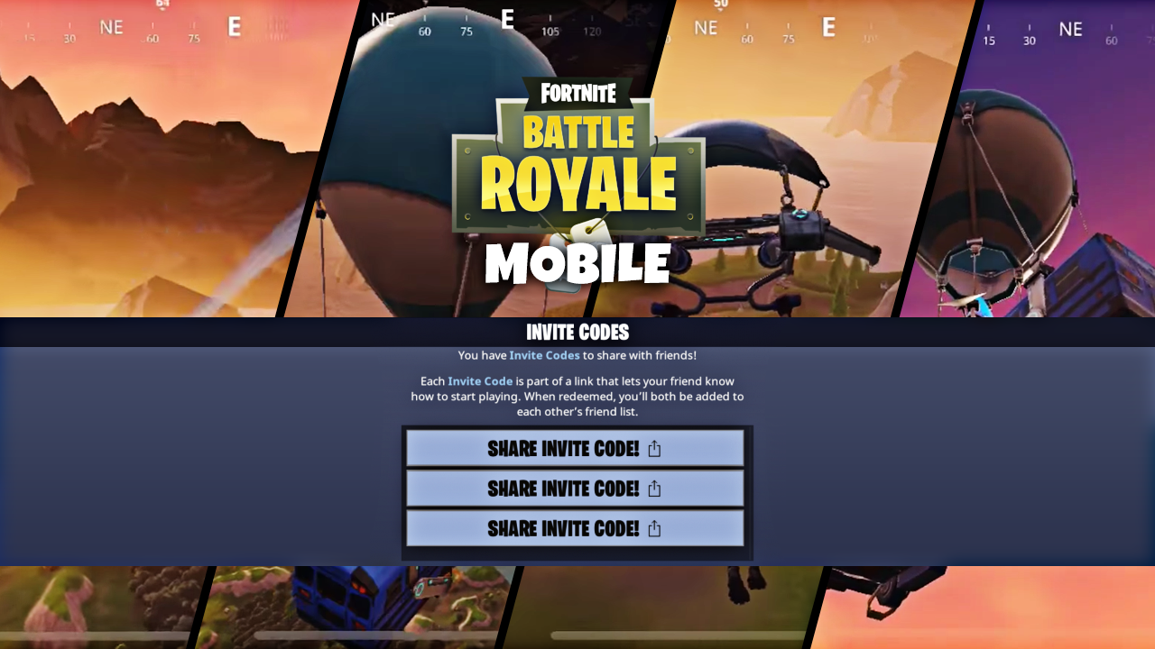 Fortnite Mobile Heres How You Can Get An Invite Code Mobile